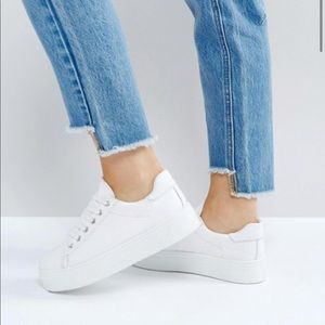 ASOS Day Light Platform Lace Up Sneakers
